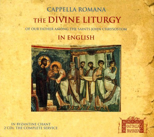 Diving Liturgy in English_Cappella Romana_Classical CDs Online