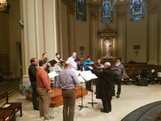 Cappella Romana Rehearsing Machaut: Messe de Nostre Dame in Seattle
