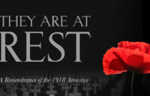 They are at Rest: A Remembrance of the 1918 Armistice