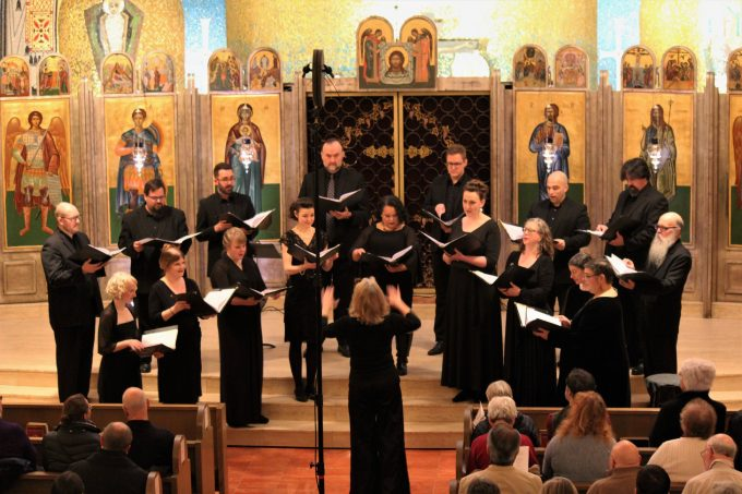 Cappella Romana performs Christmas in Ukraine Dec. 21 at St. Demetrios Greek Orthodox Church in Seattle