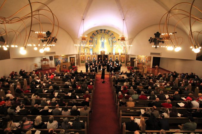 "A full house for ""Christmas in Ukraine"" Dec. 21 at St. Demetrios Greek Orthodox Church in Seattle"