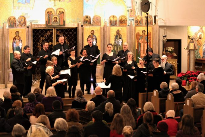 Cappella Romana Dec. 21 at St. Demetrios Greek Orthodox Church in Seattle