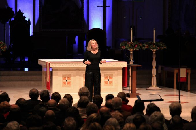 Marika Kuzma, Dec. 22 at St. Mary's Cathedral in Portland