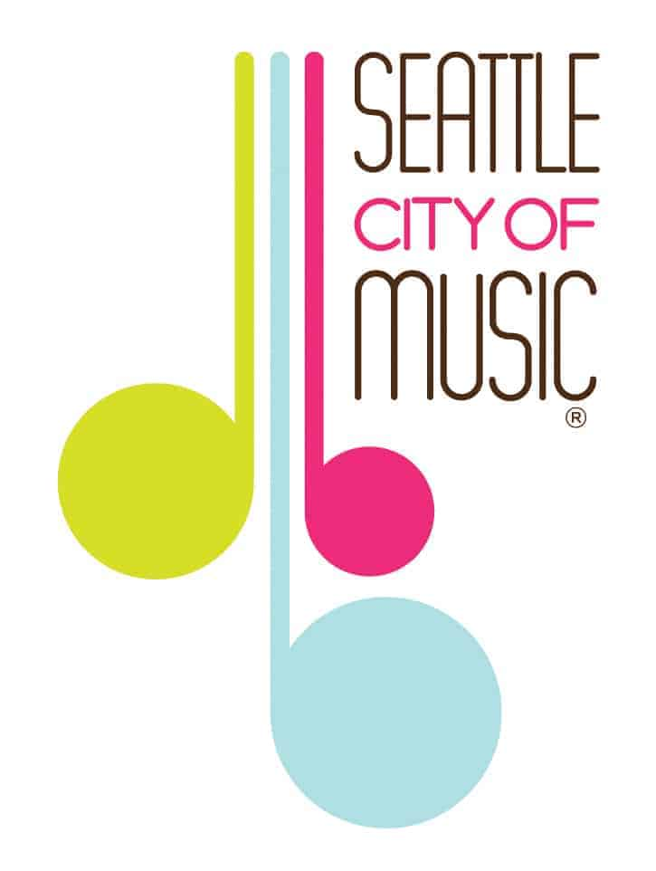 Seattle City of Music Logo