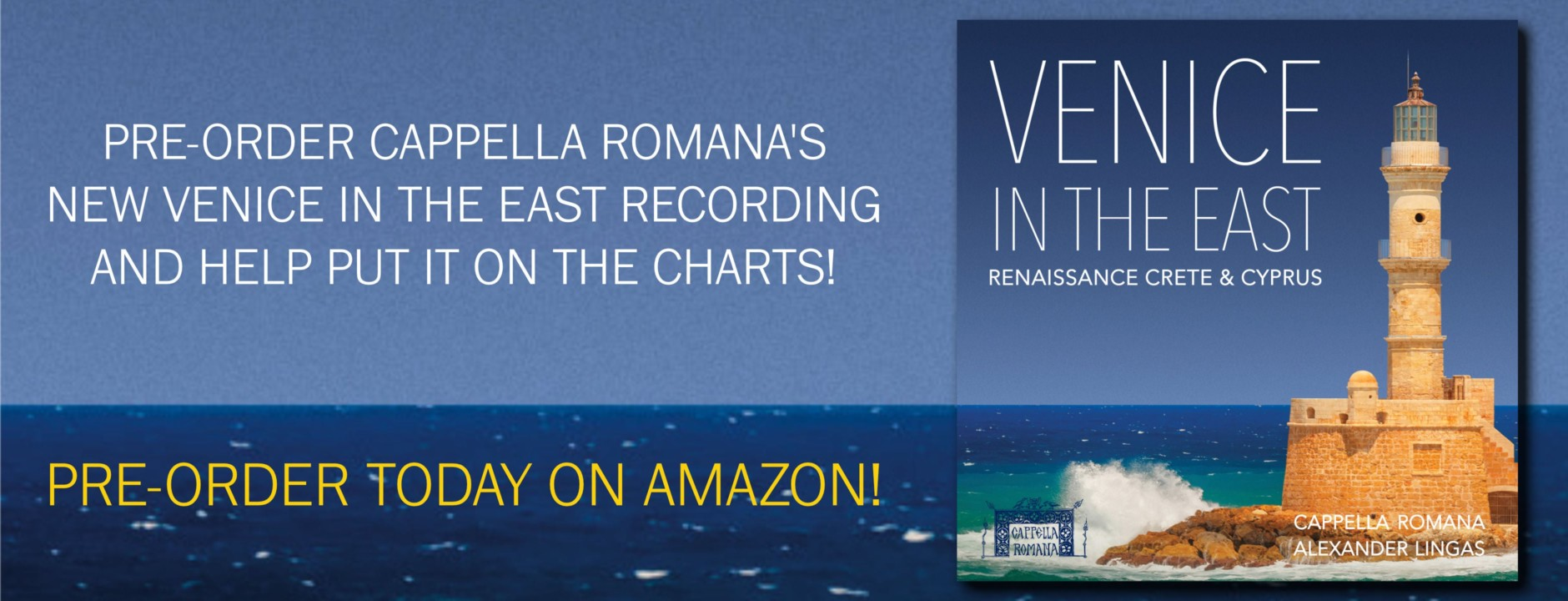 Pre-Order Venice in the East on Amazon